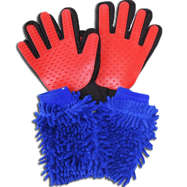 microfiber wash mitts
